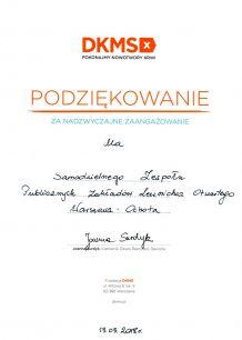 DKMS - akcja rejestracji potencjalnych Dawców